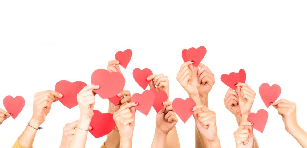 Alle hjerter gleder seg